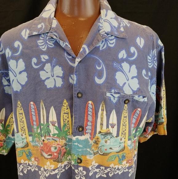 4b1c71bff375 McNeel Palmer Shirts | Chevron Usa Hawaiian Aloha Friday Sh | Poshmark
